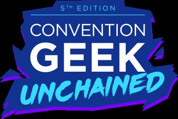 """Logo pour l'événement """"Geek Unchained 5""""."""